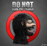 Do not feed the trolls - color by Gabrol