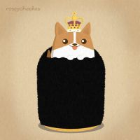 Royal Corgi by orangecircle