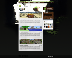 Pochylnia.pl - Minecraft site by Jozio