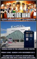 Doctor Who 50th Anniversary Celebration by DoctorWhoOne
