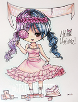 Redraw of Melanie Martinez by GeniusArtStuff