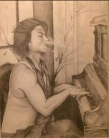 Smoking Piano by JStar1982