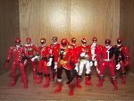 ULTIMATEfigures - Forever Red, The Second Wave by ULTIMATEbudokai3