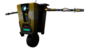 Claptrap Render by ZerosFangs