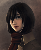 Mikasa by mistraLN