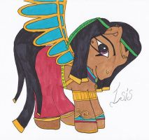 Isis My Little Pony by bluepaws21
