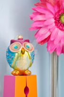 Colorful Owl by artsyfaux