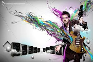 Paul Gilbert by arthyper