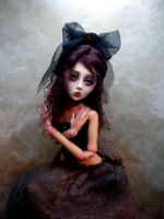 Twice Bitten BJD doll vampire BB by cdlitestudio