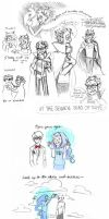 Homestuck Sketchdump 3.5 by Amandazon