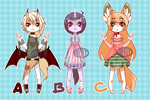 #12~14 Auction! [CLOSED] by SuperNelle