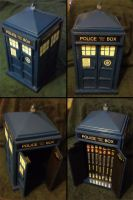 TARDIS DVD Box by dragonsong12