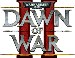 Dawn of War 2 Big Logo by LionElJonson