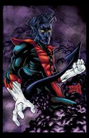 Nightcrawler colored by hanzozuken