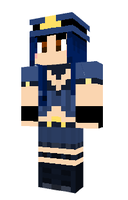 Officer Caitlyn in Minecraft by Endette