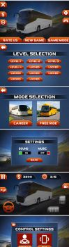 bus user interface by mad-zain