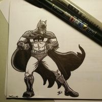 Batman Sketch 2 by BungZ