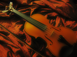 Violin. by Strawberry-Kyril