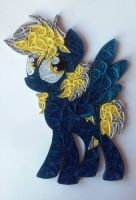 Quilling - Bolt Flash (MLP OC) by Sszymon14