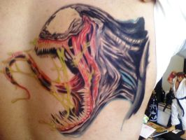 venom tattoo part2 by AlfredoP