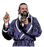 Damien Sandow 1 by jkipper