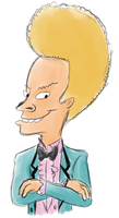 Such a nice looking Beavis by AdolfWolfed4Life