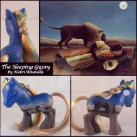 The Sleeping Gypsy Pony by Unicornucopia