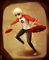 ~Commission~ Dave Strider by Rosana127
