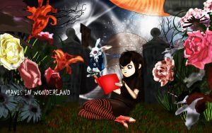 Tales of Time: Mavis in Wonderland by Bushaqua