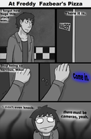 FNaF the comic [Page 10] by CreepyCheeseCookie