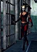 Harley At The Prision by bertoldizinho