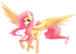 Fluttershy no BG by SayRailgun