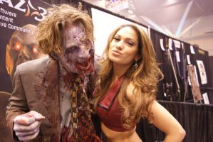 Girl loves zombie? by bfoflcommish