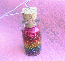 a jar of rainbows by neko-crafts