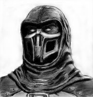 Noob Saibot by MaksEnergy