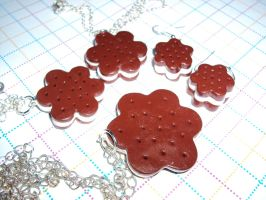 Chocolet Jewelry by KPcharms