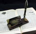 Wizard's Pen and Business Card Holder by Dynamicalley