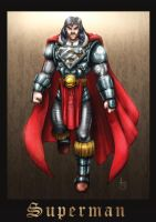 Medieval Superman by oICEMANo