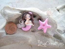 little rose mermaid by LisaCreations