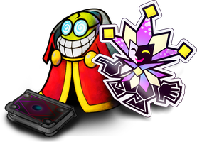 Mario and Luigi: Paper Jam- Fawful and Dimentio by Fawfulthegreat64