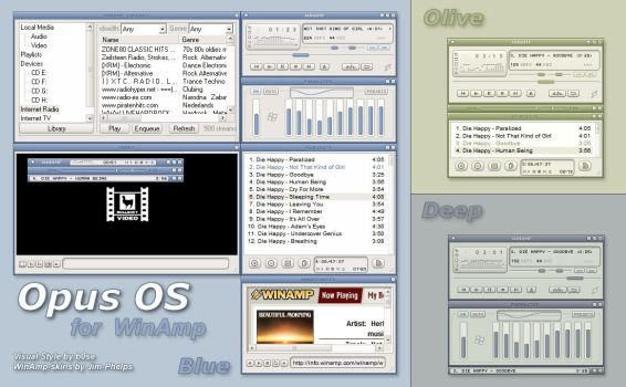 OpusOS for WinAmp by jim-phelps
