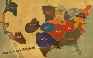 Nations of Baseball by plexust