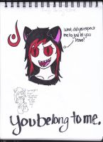 You Belong to Me by FallingWithoutStyle