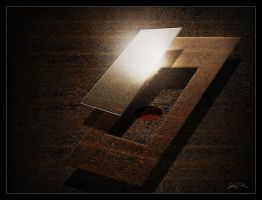 Light, Glass And Rust by Lajos-Toth