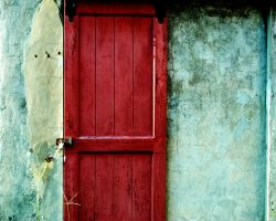 red door by AnnaRaine
