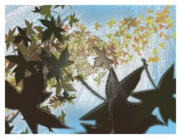 Leaves by Tielle