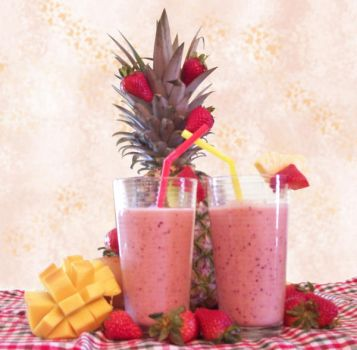 Fruit Smoothies - Edit by ReineStrife