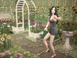 Welcome to my garden - Sims by TeSiamese