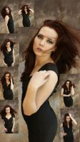 Goth portrait set by magikstock