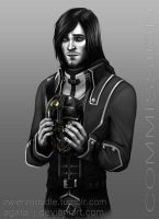 Corvo Attano - commission for spader7 by agata-j